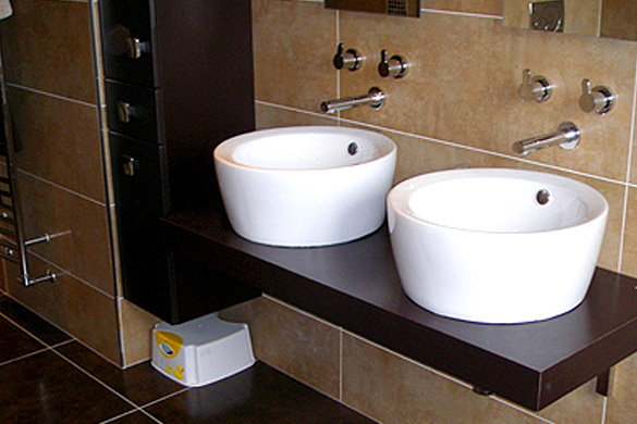 Bespoke Washbasin Project Waterside Kitchens And Bathrooms Waterside Kitchens And Bathrooms